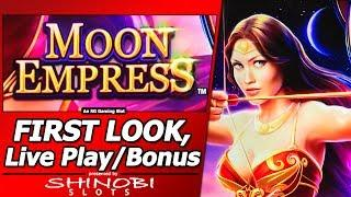 Moon Empress Slot - First Look, Wheel Features and Free Spins Bonuses