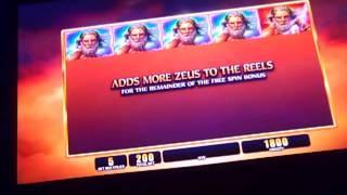 Zeus bonuses new WMS game