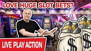 ⋆ Slots ⋆ Love Slot Machines? Love HUGE Bets? ⋆ Slots ⋆ Then WATCH THIS LIVE STREAM