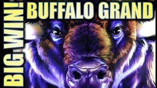 •3 SUNSETS BIG WIN!! BUFFALO GRAND• BACK-TO-BACK BONUSES! Slot Machine Bonus (Aristocrat)