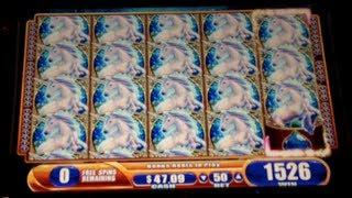 Mystical Unicorn - WMS - Quest for Full Screen Unicorn - Slot Bonus