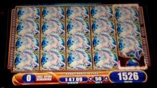 Mystical Unicorn - WMS - Quest for Full Screen Unicorn - Slot Bonus