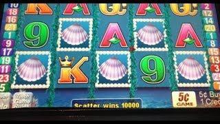 Magic MERMAID slot machine 5 BONUS SYMBOL WIN!