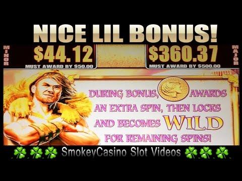 HERCULES Slot Machine Nice LIL Bonus - WMS
