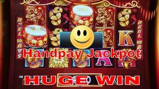 • •Handpay Jackpot• • Dancing Drums Slot Machine HUGE WIN - Bonus and Super Big WIN at San Manuel
