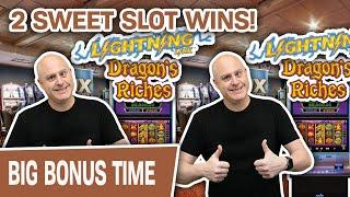 ⋆ Slots ⋆ Lightning Link: 2 SWEET SLOT WINS! ⋆ Slots ⋆ This Is Why I LOVE Dragon's Riches