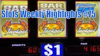 Slots Weekly Highlights #75 For you who are busy• Jackpot Again Again High Limit Slots 赤富士スロット