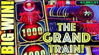 ⋆ Slots ⋆BIG WIN! THE GRAND TRAIN!⋆ Slots ⋆ COME ON GRAND JACKPOT! ⋆ Slots ⋆ CASH EXPRESS LUXURY LINE (Aristocrat Gaming)