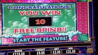 mystical mermaid slot machine bonus free spins win