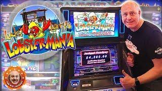 • JACKPOT MANIA! • 4 Lucky Larry LobsterMania Hits in 10 Min! •| The Big Jackpot