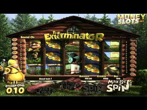 The Exterminator Video Slots Review | MoneySlots.net