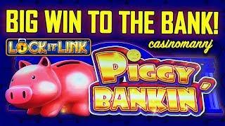 • BIG WIN TO THE BANK• - LOCK-IT-LINK - • PIGGY BANKIN' SLOT - Slot Machine Bonus