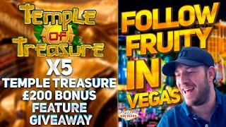 X5 Temple Treasure £200 Feature Buys! Giveaway Results