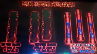 Dragon's Temple Slot Machine Bonus - 5 Free Games with 3 Wild Reels - Guaranteed Big Win