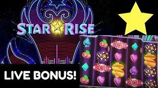 STAR RISE • Slot Machine Live Play & BONUS! Finally!