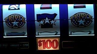 Triple Stars $270KJackpot@Bellagio