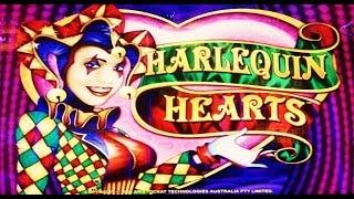 Aristocrat Technologies: Sticky Wilds - Harlequin Hearts Slot Bonus NICE WIN