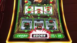 Winning on Emerald City and Wild Wild Nuggest slots.