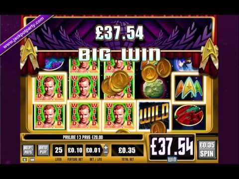 £184 ON STAR TREK: TREK THROUGH TIME™ MEGA BIG WIN (525 X STAKE) - SLOTS AT JACKPOT PARTY