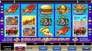 Free Spring Break Slot by Microgaming Video Preview | HEX