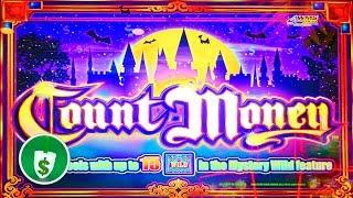 Count Money slot machine, 3 sessions, bonus