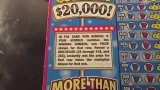 ᐅ Connecticut lottery 10X the Cash series scratch ticket