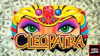 Up to $5/Spin • LIVE PLAY and Bonuses on Cleopatra Slot Machine and Cleopatra II
