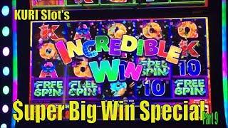 •$UPER BIG WIN• KURI Slot's Super Big Win Special Part 9 •4 of Slot machines $$ • You must see•彡栗スロ