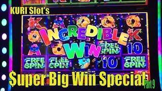 •$UPER BIG WIN• KURI Slot's Super Big Win Special Part 9 •4 of Slot machines $$ • You must see•彡栗スロ