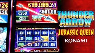 Thunder Arrow Jurassic Queen Slot Machine from Konami