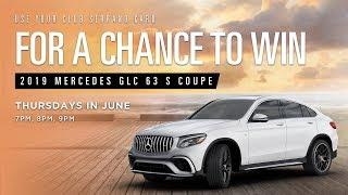Win a Mercedes AMG GLC 63 Coupe at San Manuel Casino! [June 2019]