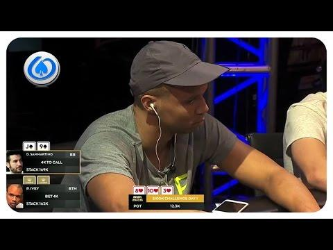 Phil Ivey overbets ALL IN!  - Nuts or Nothing?