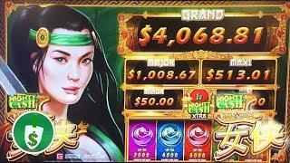•️ NEW -  Nu Xia Mighty Cash slot machine, bonus
