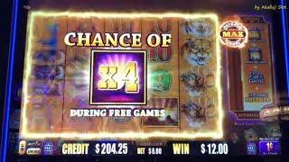 "Super Big PROFIT•New Slot Machine ""Buffalo MAX"" Max Bet $6 San Manuel, Akafujislot スロット カジノ"