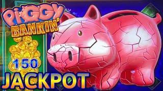 HIGH LIMIT Lock It Link Piggy Bankin' HANDPAY JACKPOT ⋆ Slots ⋆(2) $50 Bonus Rounds Slot Machine Casino
