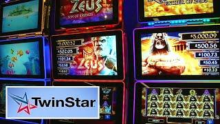 TwinStar Slot Machine Cabinet from Scientific Games
