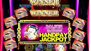 Dancing Drums Slot Machine •MAJOR HANDPAY JACKPOT• | Max Bet Double Jackpot Gems Slot Live Play