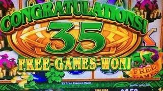 Big Win*Thanksgiving Part 2 (2 of 3)•Wild Lepre'Coins Slot Machine Bet $3 Barona Casino