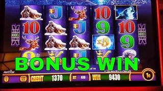 Timber Wolf Slot Machine Bonus Win $4 Bet  •Live Play•