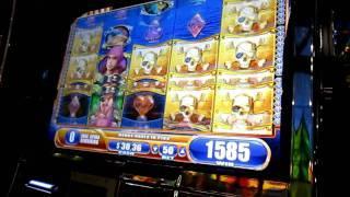 Pirate Ship Slot Machine Bonus Round (WMS)