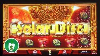 Solar Disc slot machine, finally bonus