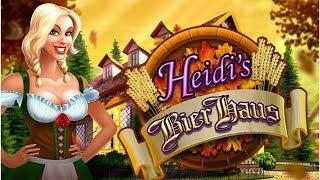 SUPER-SUPER BIG WIN ON HEIDI'S BIER HAUS SLOT MACHINE - CRUISE SHIP SLOTTING