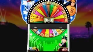 Community Chest Bonus From SUPER MONOPOLY MONEY Slots By WMS Gaming