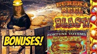 DON'T COUNT THE LOSSES UNTIL THE END! EUREKA REEL BLAST & FORTUNE TOTEMS