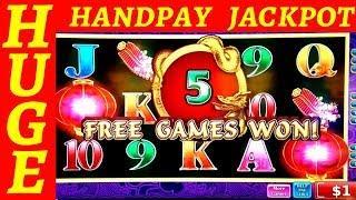 High Limit - DRAGON CELEBRATION Slot Machine •HANDPAY JACKPOT• | High Limit Cleopatra 2 Slot Bonus