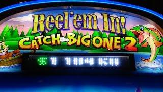 WMS - Reel'em In ! Catch the Big One 2 : Line Hit ad Bonus on a $1.75 bet / Max Bet