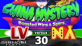 Las Vegas vs Native American Casinos Episode 30: China Mystery, Boosted Wins and Spins Slot Machine