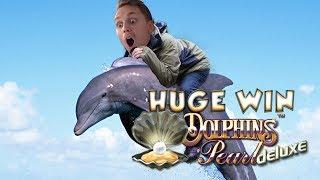 BIG WIN!!!! Dolphins Pearl big win - Casino - Bonus round (Casino Slots) From Live Stream
