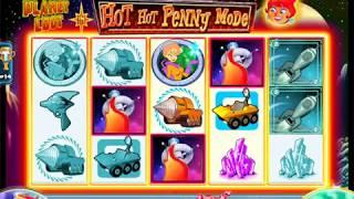 "HOT HOT PENNY PLANET LOOT Penny Video Slot Casino Game with an ""EPIC WIN"" FREE SPIN BONUS"