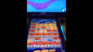 Flinstones slot machine bonus